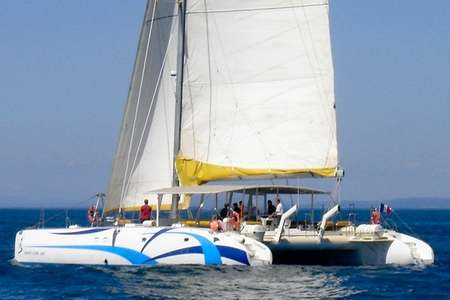 Journee maxi-catamaran
