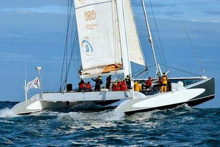 Journee catamaran course Lorient