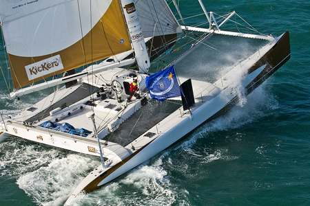 Journee catamaran course Lorient Morbihan
