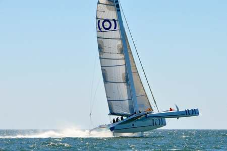 Demi-journee trimaran course Lorient