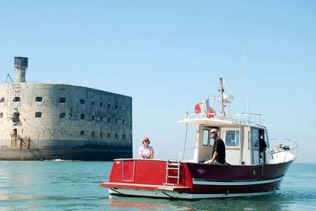 Excursion bateau fort Boyard