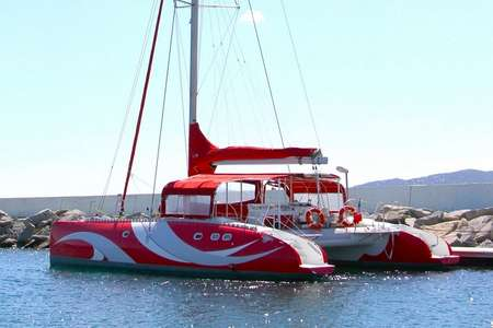 Sorties catamaran Saint Tropez