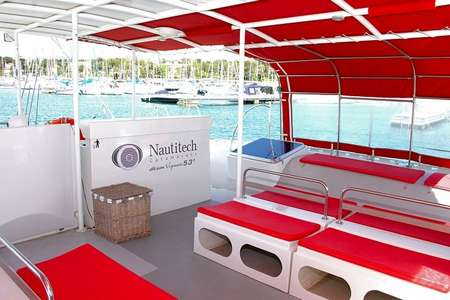 Soiree catamaran Saint Tropez