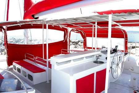 Catamaran day charter Saint Tropez