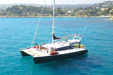 Soiree cocktail catamaran