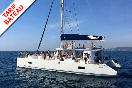Maxi-catamaran double pont Cannes