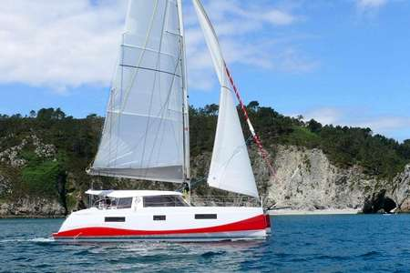 Sorties catamaran Crozon Morgat