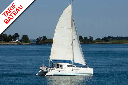 Catamaran Nautitech 395 Arzon