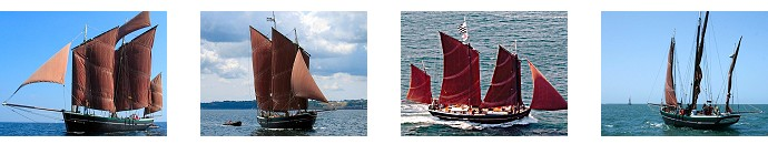 Voile vieux greement chasse maree matinee Saint Malo 35