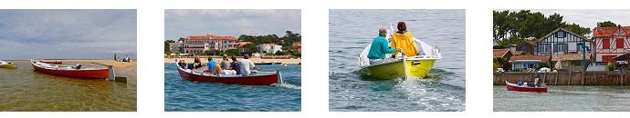 location bateau sans permis l ge cap ferret gironde 33 louer petite pinasse moteur bassin. Black Bedroom Furniture Sets. Home Design Ideas
